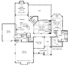 Wedgewood Place - Home Plans and House Plans by Frank Betz Associates