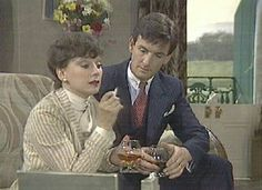 Agatha Christie's 'Partners in Crime', Francesca Annis and James Warwick as Tommy and Tuppence.