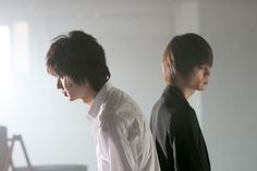 "[Preview, Ep.9 #2/2, long ver]   https://www.youtube.com/watch?v=3tDmr2U6rY4  Kento Yamazaki, BTS, J drama series ""Death Note"",   [Ep. w/Eng. sub] http://www.dramatv.tv/search.html?keyword=Death+Note+%28Japanese+Drama%29"