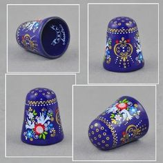 ARTA AUSTRIAN ENAMEL BLUE THIMBLE DOVE / May 12, 2015 / GBP 34.00