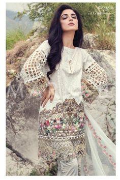 9e9f6ba41e Maya Ali for Maria B Eid Lawn Collection 2016 Pakistani Dresses, Pakistani  Lawn Suits,