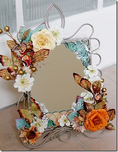 Be Creative Be You: D.I.Y MIRROR FRAME | For the future home ...