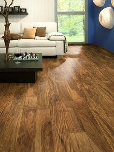 Topps Tiles Laminate Flooring 1 - I love this colour - we will definitely use it in our living room.