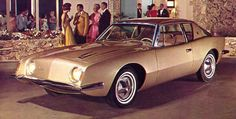 1963 Studebaker Avanti  This was a totally original design that had manyadvanced engineering features including the first American carwith disc brakes. This all out effort was not enough to saveStudibaker from going out, but it was a great grand finale.