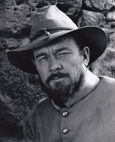 MAJOR DUNDEE (1965) - Ben Johnson on location near Durango, Mexico - Directed by Sam Peckinpah - Columbia Pictures - Publicity Still.