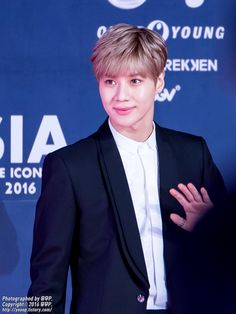 160315 #Taemin #Shinee - The 2016 Style Icon Asia Pink Carpet
