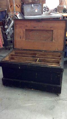 Carpenters Trunk $168.00...SOLD !!