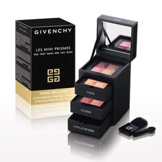 Holiday Gifts for the Beauty Junkie: Givenchy Les Mini Prismes #InStyle