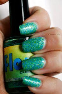 Nail-venturous Lacquers Floam #floam #manicure #glitter #nailpolish