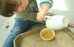 Transvasement Montessori à la maison : pourquoi, comment l'appliquer, faut il tout acheter ?