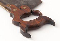 H. DISSTON PHILA. 20 inch Gent's Half-Back Saw