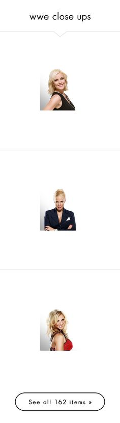 """""""wwe close ups"""" by thornmoxelyambrose ❤ liked on Polyvore featuring wwe, natalya, maryse, beth phoenix, nxt guys and girls, summer rae, eva marie, aj lee, wwe diva and catch"""