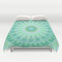 duvet cover Mandala ease of being by Christine Bässler http://society6.com/product/mandala-ease-of-being_print?curator=christinebssler