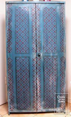 Sarrah - Μαροκινό στένσιλ - Chalk Of The Town® Stencils