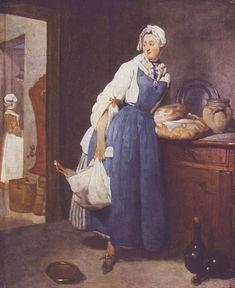 Jean-Baptiste Siméon Chardin  Жан-Батист-Симеон Шарден