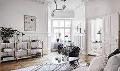 An+impressive+swedish+apartment