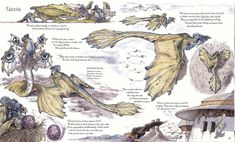 The Department of Psychic War Veteran Affairs — Excerpts of Tatooine wildlife from The Wildlife of. Mythical Creatures Art, Alien Creatures, Mythological Creatures, Fantasy Creatures, Alien Concept Art, Creature Concept Art, Fantasy Monster, Monster Art, Creature Feature