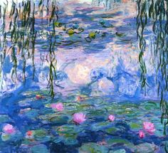 Claude Monet Water Lillies