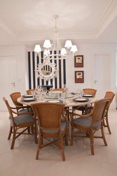 sala_de_jantar Dinner Room, My House, Solange, Dining Table, House Ideas, Furniture, Architecture, Home Decor, Design