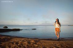 Oi, Clo | Look Maxi Cardigan, short de couro e headband. www.oiclo.com.br @clohmello