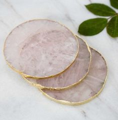 UnkaHome Rose Gold Quartz Stands on Etsy www.etsy.com / #quartz #stands #unkahome