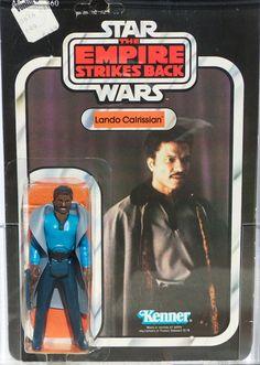 Star Wars 1980 ESB Lando Calrissian w/teeth 41 Back-D AFA 75 (70, 85, 85) MOC