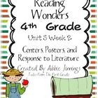 The following items are included in this packet:  Focus Wall Posters Essential Question Weekly Skills  8 Literacy Centers Vocabulary Match Center V...