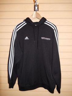 Adidas Seattle Pacific University Hoodie Sweatshirt SPU Falcons Basketball Large #adidas #Hoodie