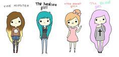 pastel goth, hipster, hardcore girl, kawaii girl | Tenmagblog | TUMBLR GIRL LOOK! TODAY: PASTEL GOTH GIRL!