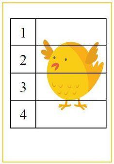 Wiosenne szablony do druku - 10 szablonów - Pani Monia Preschool Learning Activities, Preschool Crafts, Book Activities, Easter Crafts, Crafts For Kids, Kindergarten Writing, Coq, 4 Kids, Kids Education