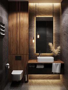 The best design ideas for 2020 ideas – Dekorat … - Modern Washroom Design, Bathroom Design Luxury, Modern Bathroom Design, Design Loft, Home Room Design, Home Interior Design, Wc Design, Design Ideas, Graphic Design