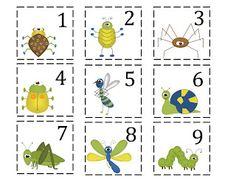 Preschool Printables: Bugs