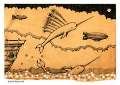 'My narwhal ran away' - Jon Carling