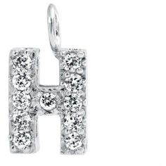 Bling Jewelry Block H Pendant ($6.99) ❤ liked on Polyvore featuring jewelry, pendants, clear, necklaces pendants, pendant jewelry, letter pendants, initial pendant jewelry, clear crystal pendant and clear pendant