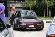 RWB style isn't for everyone but this is just dope. 911 targa. RWB Thailand.
