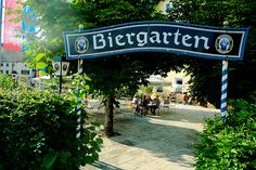 Berchtesgaden Biergarten-I need a sign like this for my backyard
