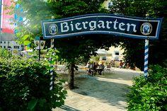 Berchtesgaden Biergarten-I need a sign like this for my backyard