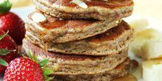 Ces pancakes sont fait avec principalement de la farine d'amande (on peut dire poudre d'amande). Ils