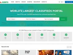 http://www.phpscriptsmall.com/product/hot-scripts-clone-script-classified/   One of the hotscript clone is classified website. Especially, it established for script seller and bound up with the similar functionalities of hot script and clone script. The php script directory is highly secure and high withstands capability that can be guaranteed to submit your whole client details. Contact +91 9841300660