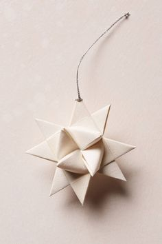 Christmas is just around the corner | Origami star from AnthropologieFollow Style and Create at Instagram | Pinterest | Facebook | Bloglovin