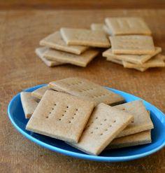 MIH Recipe Blog: Gluten Free gram crackers