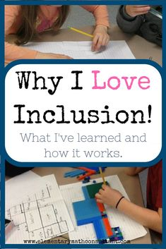 Teaching in an inclusive classroom is challenging and rewarding. In this post, I share why I love inclusion, what I've learned from it, and strategies for making it work.    http://www.elementarymathconsultant.com/why-i-love-inclusion/