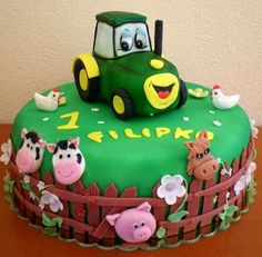 Lawn Tractor - Cake by Ivule
