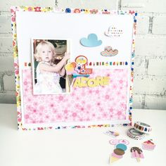Bella Blvd | Popsicles & Pandas Collection | Layout by Jamie Pate