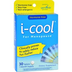 I-cool For Gel Caps For Menopause - 30 Tablets