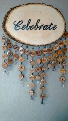 Family/Birthday/Personalized/Wood/Wall by JanieJCrafts on Etsy