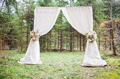 como hacer un arco para boda civil - Buscar con Google