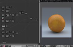 Probably the most complex fruit material I've ever worked on - but still fun! ;)