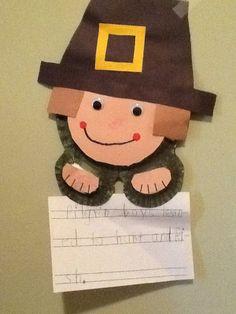 A Pilgrim made by j, 5 years old • Art My Kid Made #kidart