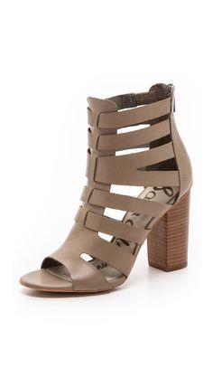 9de1a00409c2 Sam Edelman Yazmine Cutout Sandals Expensive Shoes